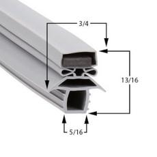 Traulsen Gasket 11 1/2 x 23 1/2 - Profile 691