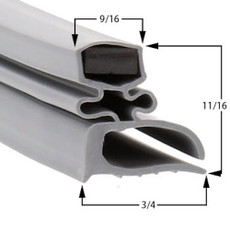 Howard-McCray Gasket  25 5/8 x 59 3/8