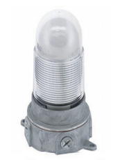 LED Fixture with Lamp and Globe - Kason 1802 - E26 Base