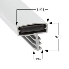 Profile 544 - Custom Walk-in Door Gasket
