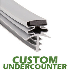 Profile 301 - Custom Undercounter Door Gasket