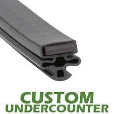Profile 010 - Custom Undercounter Door Gasket