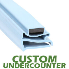 Profile 802 - Custom Undercounter Door Gasket