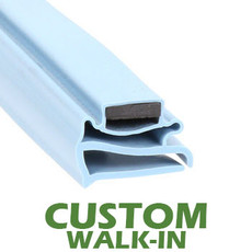 Profile 802 - Custom Walk-in Door Gasket