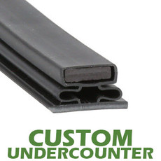 Profile 716 - Custom Undercounter Door Gasket