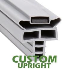 Profile 714 - Custom Upright Door Gasket