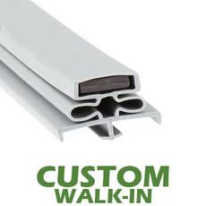 Profile 166 - Custom Walk-in Door Gasket