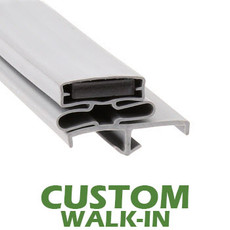 Profile 165 - Custom Walk-in Door Gasket