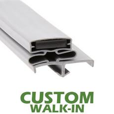 Profile 165 - Custom Walk-in Door Gasket