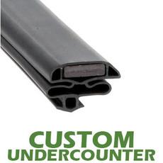 Profile 632 - Custom Undercounter Door Gasket