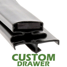 Profile 164 - Custom Drawer Gasket