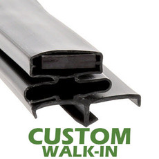 Profile 164 - Custom Walk-in Door Gasket