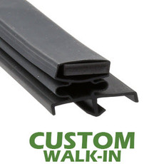 Profile 170 - Custom Walk-in Door Gasket