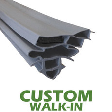Profile 327 - Custom Walk-in Door Gasket