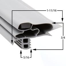 Profile 618 - Custom Undercounter Door Gasket