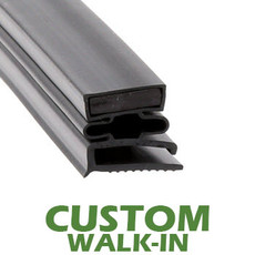 Profile 493 - Custom Walk-in Door Gasket