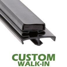 Profile 167 - Custom Walk-in Door Gasket