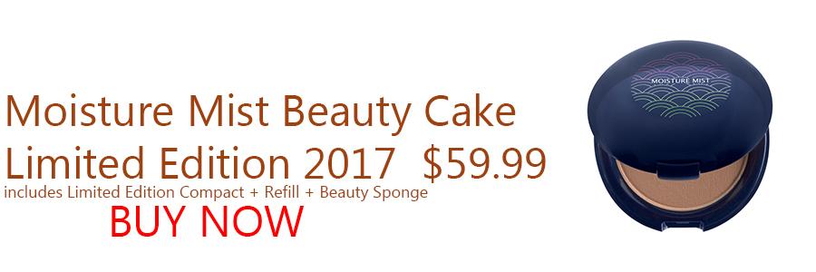 Moisture Mist Beauty Cake Ltd Edition 2017 $59.99