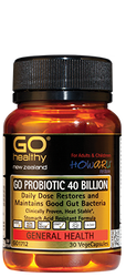 Go Healthy Probiotic 40B 30 VegeCapsules