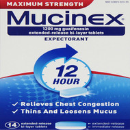 Mucinex Maximum Strength 1200mg 14s