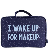 TL+C I Wake Up For Makeup Hanging Washbag