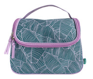 Bananarama Weekend Vanity Bag(blue/mauve)
