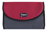 Gainsborough Mens Two Tone Rollup Red Toilet Bag