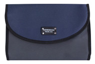 Gainsborough Mens Two Tone Rollup Navy Toilet Bag