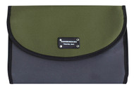 Gainsborough Mens Two Tone Rollup Olive Toilet Bag