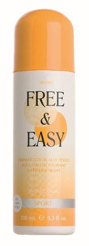 Innoxa Free & Easy Sport Deodorant Roll-on 100ml