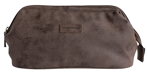 Gainsborough Mens Tan Toilet Bag