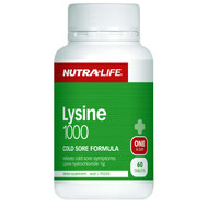 Nutra-Life Lysine 1000mg 60 Tablets