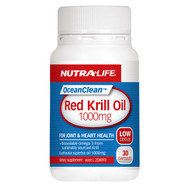 Nutra Life OceanClean™ Red Krill Oil 1000mg, 30 Capsules