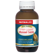 Nutra-Life New Zealand Green Lipped Mussel 5600, 100 Capsules