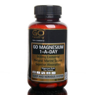 Go Healthy Magnesium 1-a-day 500mg 60 Capsules
