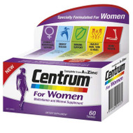 Centrum For Women, 60 Tablets