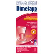 Dimetapp DM Elixir Cough and Cold 200ml