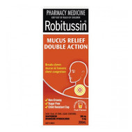 Robitussin Mucus Relief Double Action, 200ml