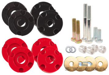 2015-2018 Mustang STEEDA S550 Adjustable Differential Bushing Insert System - Urethane
