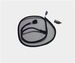 2015+ Mustang IAT harness and brass air temp sensor for PD blowers