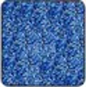 "Metal flake Blue roll 15"" x 15'"