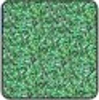 "Metal flake Green sheet 15"" x 12"""