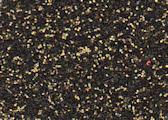 """GlitterFlex Ultra Black Gold 15"""" x 12"""" sheet"""
