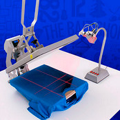 Heat Press Laser Alignment System