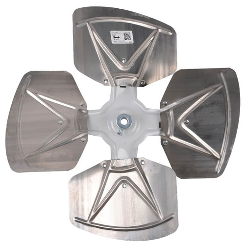 "95C59 - 4 Blade Fan Assembly 18"" Diameter 1/2"" Bore 30 DEGREE Pitch -CW"