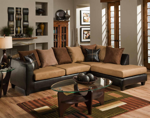 CHOCOLATE & BICAST SECTIONAL