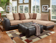 2PC SECTIONAL SEA RIDER SADDLE