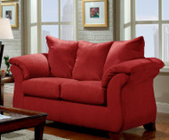 RED BRICK LOVESEAT