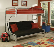 Silver Futon Bunk Bed