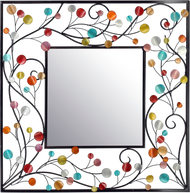 RED-BLUE SQUARE MIRROR
